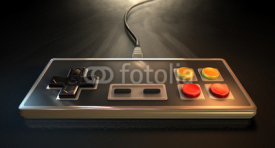 Fototapety Vintage Gaming Controller