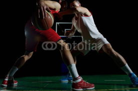Fototapety basketball player in action
