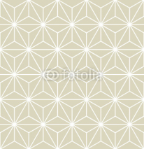 Fototapety Seamless Vector Geometric Pattern Texture