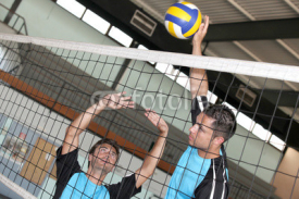 Fototapety Volleyball game
