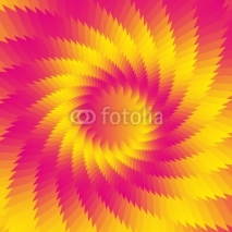 Naklejki Abstract gradient flower background