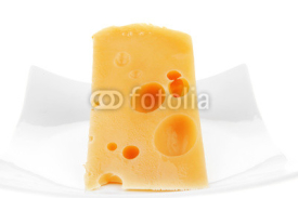 Fototapety french gourmet triangle of parmesan