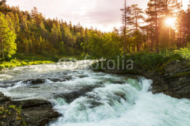 Fototapety River in Norway