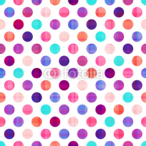 Fototapety seamless circles background texture