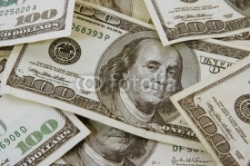 Fototapety one hundred dollar bill background