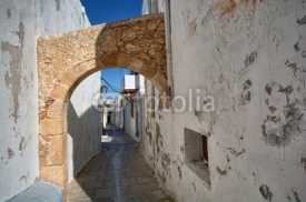 Fototapety Traditional Greek architecture, Lindos