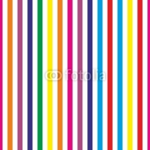 Fototapety Seamless colorful stripes vector background or pattern