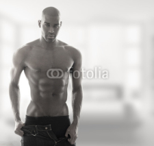Fototapety Sexual hot guy