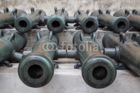 Ancient artillery Cannons