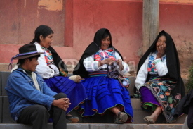 Fototapety Tradition in Peru