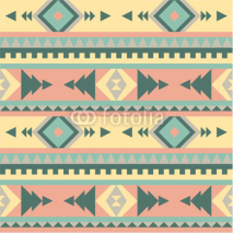 Naklejki Seamless tribal pattern #2