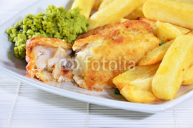 Fototapety Fish and Chips