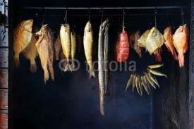 Fototapety Marine fish from smokehouse is a great source of omega 3