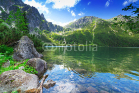 Obrazy i plakaty Eye of the Sea lake in Tatra mountains, Poland