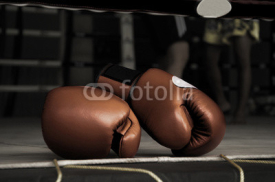 Fototapety Boxing Glove Vintage