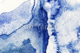 Fototapety Abstract hand drawn watercolor background, raster illustration.