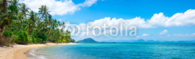 Fototapety Untouched tropical beach
