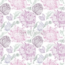 Fototapety Romantic Provence Vector Pattern