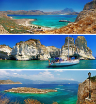 Obrazy i plakaty beautiful nature of Greek islands