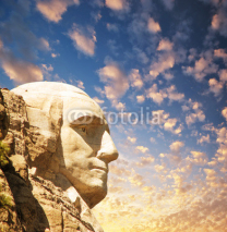 Obrazy i plakaty Mount Rushmore National Memorial with dramatic sky - USA