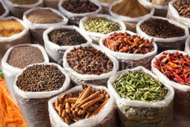 Fototapety Indian spices