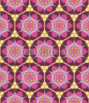 Obrazy i plakaty Abstract geometric seamless pattern.