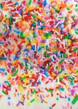 Fototapety Sugar birthday sprinkles