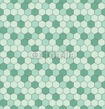 Obrazy i plakaty Seamless pattern with hexagon shapes.