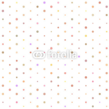 Obrazy i plakaty Seamless pattern with polka dots