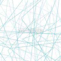 Naklejki Abstract geometric outline background