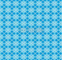 Fototapety vector knitting seamless background: geometric argyle pattern