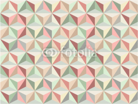 Naklejki Triangle seamless pattern 1