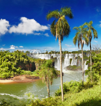 Fototapety Iguassu Falls, view from Argentinian side
