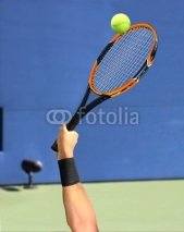 Fototapety Tennis Serve on Court