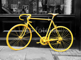 Naklejki yellow bike