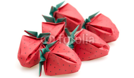 Origami Strawberries