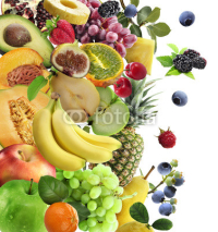 Fototapety Fresh Fruits And Berries
