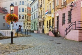 Fototapety old town of Lublin, Poland