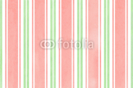 Naklejki Watercolor striped background.