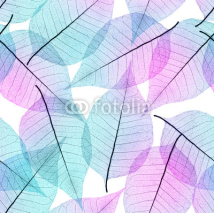 Fototapety Seamless leaves background