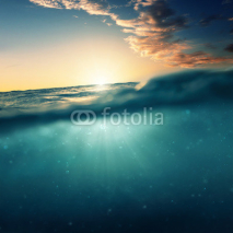 Fototapety Underwater Sundown