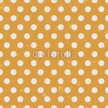 Obrazy i plakaty Seamless pattern with white polka dots