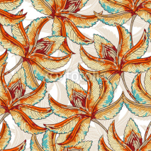Fototapety Seamless Fall pattern