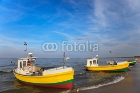 Fototapety Fishing boats