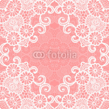Fototapety Vintage lace invitation card.