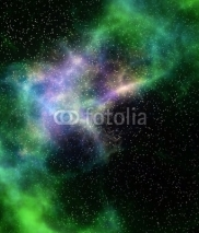 Fototapety outer space cloud nebula and stars