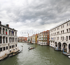 Fototapety The Grand Canal in Venice