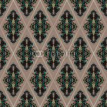 Naklejki Seamless abstract pattern wallpaper vector