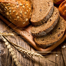 Fototapety assortment of baked bread