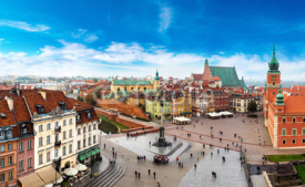 Obrazy i plakaty Panoramic view of Warsaw